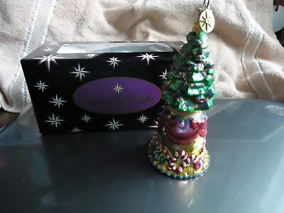 Christopher Radko Christmas Tree Bell Ornament
