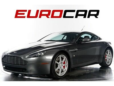 Vantage  2007 Aston Martin Vantage - 6 SPEED MANUAL, PIANO BLACK VENEER, HEATED SEATS