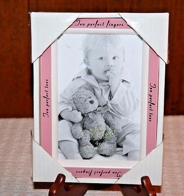 Fetco photo frame for new baby girl NIB