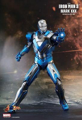 IRON MAN 3 - Mark 30 Blue Steel 1/6th Scale Action Figure MMS391 (Hot Toys) #NEW