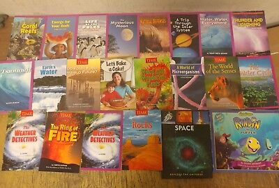 Lot of 20 Science Nature Experiment Geographic Animal Educate Children Book U93