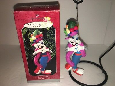 Hallmark Keepsake Ornament Looney Tunes Bugs Bunny Latin Dance 1997
