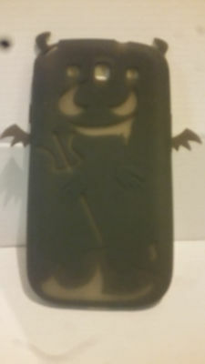 Grey Halloween Soft Gel Back Case for Samsung Galaxy S3