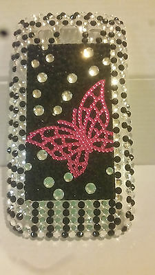 Fancy Bling Butterfly Hard Shell Back Case for Samsung Galaxy S3