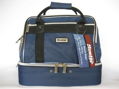 Traditional Style Navy Two tone 4-Bowls Carry Bag GREAT BAG AT A GREAT PRICE