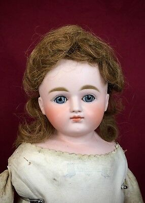 Antique German Bisque Doll Closed Mouth Pouty Kestner
