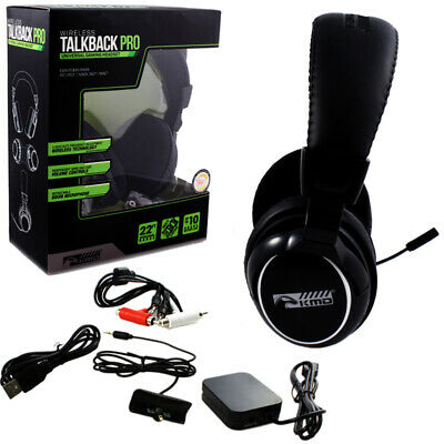 Xbox 360 PS3 PS2 PC MAC - Universal Wireless Talkback Pro Gaming Headset KMD
