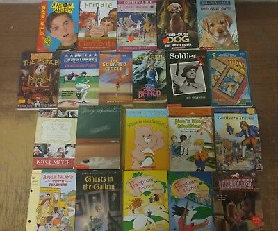 Lot of 20 Chapter Scholastic Disney RL 2 3 4 5 Child Books AR MIX UNSORTED #V04