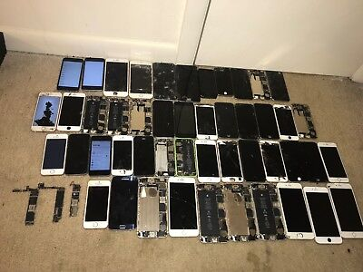 (( 52 )) Wholesale ALot Of iPhone Different Types  Only For Parts !!