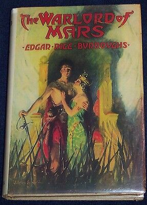 THE WARLORD OF MARS Edgar Rice Burroughs (Tarzan) 1948 JOHN CARTER series #3 ERB