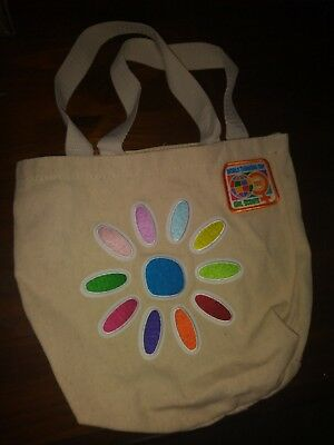 Girl Scout SMALL TOTE BAG, Daisy Petals and Patch