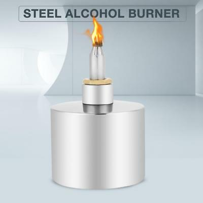 200ml 304 Stainless Steel Thickened Alcohol Burner Dental Lab Lamp with Wick pk