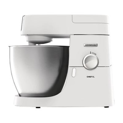 Kenwood Chef XL Mixer KVL4100W in Silver Made of Metal 1.2kW  6.4Ltr