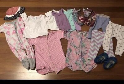 Baby Girl Bundle Size 0 And 00 Including Bonds