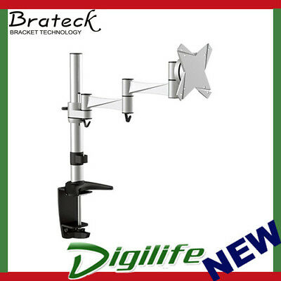 """Brateck Single Flexi Arm Monitor Mount Up to 27"""" BT-LDT02-C012"""
