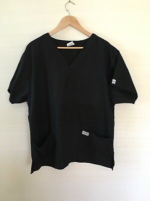 Salon Tunic Size Extra Large For Day Spa Or Beauty Parlour Black