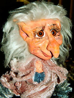 Branbria Old Folk ~  Fairies, Pixies & Kitchen Witches OOAK Doll Hand Sculpture