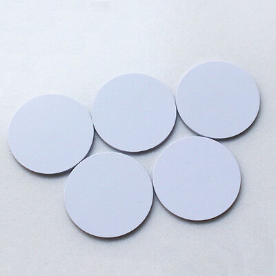 10Pcs/Lot RFID Tags Stickers 125KHZ 25mm EM4100 Waterproof Adhesive Lable Cards