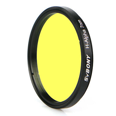 """SVBONY H-Alpha 2"""" 7nm Filter Narrowband Astronomical Photographic Filter Brand"""