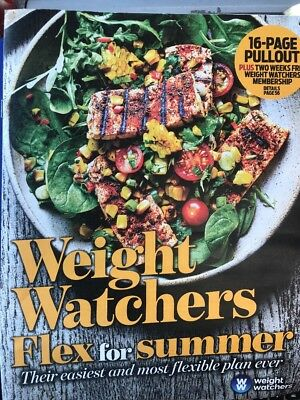 Weight Watchers Flex for Summer Daily Mail Weekend Magazine 16 page Pullout