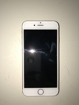 Apple iPhone 6s 128GB Rose Gold w/Earphones + 3 Cases + Glass Screen Protector