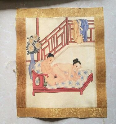 Chinese ancient times man and women Both sexes Painting 11