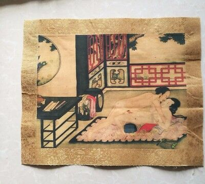 Chinese ancient times man and women Both sexes Painting 10