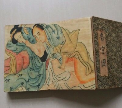 antique Ancient Chinese sex culture representative collections of books Japan A