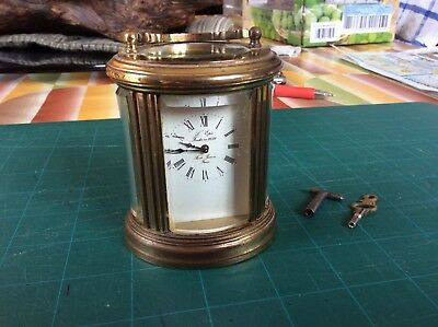 ANTIQUE carriage clock french