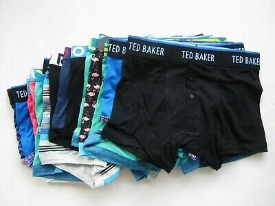 6X Men's Cotton Stretch Trunks Mixed Brands With Defects