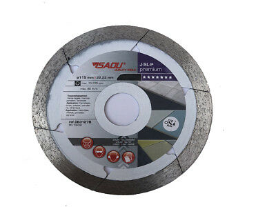 Porcelain Tile Turbo Thin Diamond Dry Cutting blade/Disc Grinder wheel 125mm