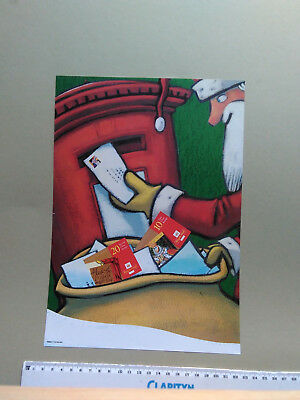 Post Office poster A4 size:1999 Christmas.ref RMN 175 99 A4 W
