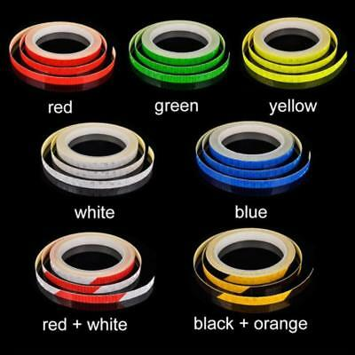 MTB Bike Bicycle Cycling Reflective Stickers Security Wheel Rim Decal Tape ,