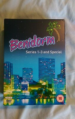 NEW Benidorm: Series 1-3 and the Special DVD Box Set