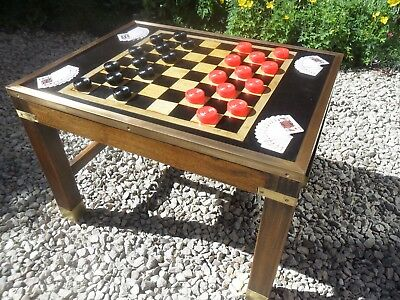 Coffee Chess Board  Top  Round Table