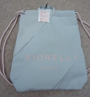 FIORELLI GYM /Leisure Bag Strong, lightweight drawstring.Water resistant outer.