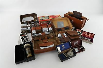 Job Lot of Vintage Gents GROOMING Mixed Designs Inc.Travel Sets etc