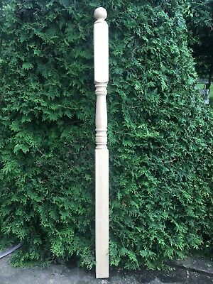 Victorian Style Hardwood Turned COLUMN NEWEL Porch POST Architectural Salvage