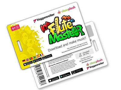 FLUTE MASTER (App) / Download-Card