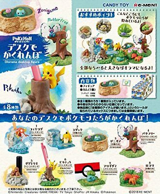 Re-Ment Pokemon hide-and-seek Desktop Figure 8 set Complete Box box: H.11.5cm