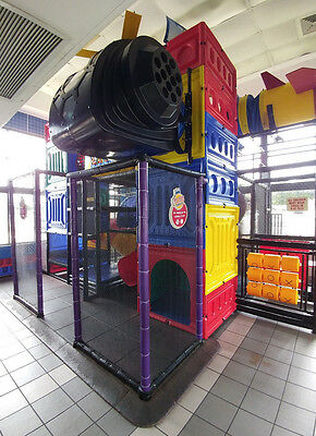 Giant indoor Burger King® playset loaded with features & slide! Extremely Rare