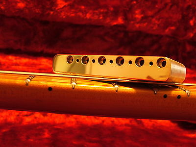 THE KGC Killer Brass Tremolo Block for Fender Strat -Stratocaster Made In Mexico