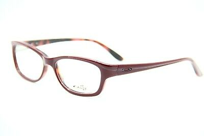 New Oakley Ox 1067-0652 Red Eyeglasses Authentic Rx Ox 1067 52-15