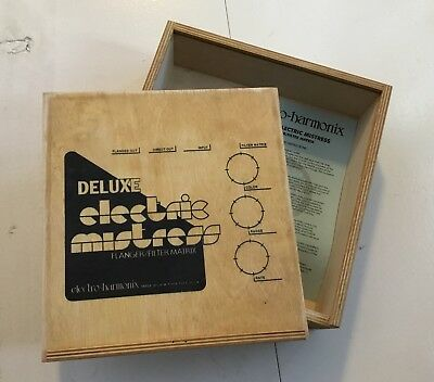 Electro-Harmonix Deluxe Electric Mistress WOODEN BOX ONLY