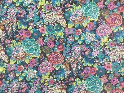 Liberty Regent Chiffon - Elysian Day -  (B) - 100% Silk Fabric