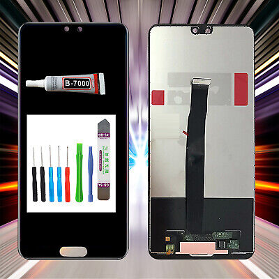 Original Huawei P20 EML-L09 EML-L22  LCD Display TouchScreen Schwarz +TOOL