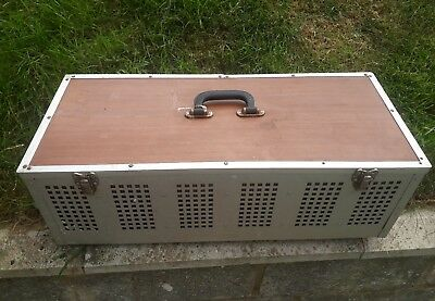 PIGEON / POULTRY / GAME ALUMINIUM CARRIER BASKET / BOX - 6 PARTS  pre owned