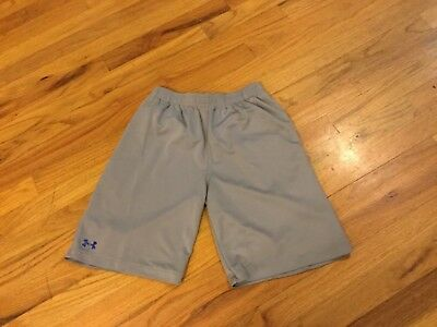 Boys Under Armour shorts size YLG gray