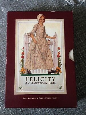 American Girl FELICITY Boxed Set Books 1-6 Pleasant Company- First Edition