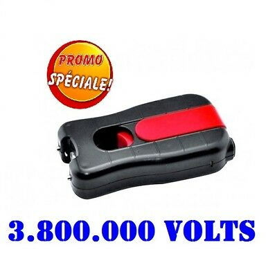 Rechargeable shocker  defense electrique paralyseur 3 800 000 VOLTS